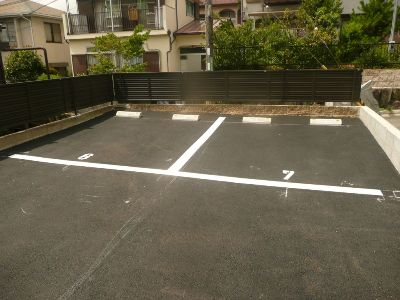 「広陵町パーキング」神戸市北区広陵町1丁目の賃貸駐車場の外観写真です