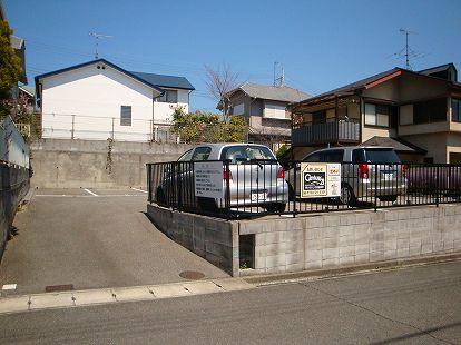 「惣山町パーキング」神戸市北区惣山町4丁目の賃貸駐車場の外観写真です