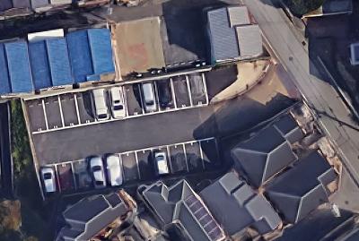 「鈴蘭台東町5丁目駐車場」神戸市北区鈴蘭台東町5丁目の賃貸駐車場の外観です
