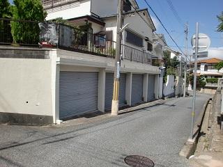 「内田駐車場」神戸市北区緑町6丁目の賃貸駐車場の外観写真です